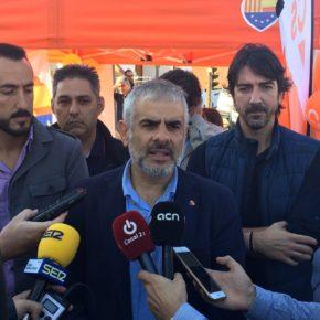 """Carlos Carrizosa: """"El 21 de desembre Ciutadans sortirà a guanyar les eleccions"""""""