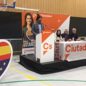 """Carlos Carrizosa (Cs): """"Ciutadans és la millor opció per guanyar a l'independentisme en les urnes i tenir una Catalunya per a tots"""""""